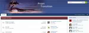 Forum, crée à partir d'une base ... Sert à la communication interne des membres de l'association et la gestion des projets.