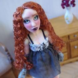 """BJD art doll, """"Victorian..."""